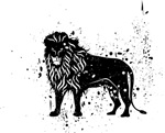Spotted Lion