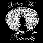 Loving Me Naturally Afro Natural Hair Curly White
