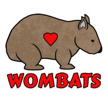 Wombat With A Heart