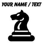 Custom Knight Chess Piece