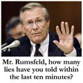 Rumsfeld/Lies