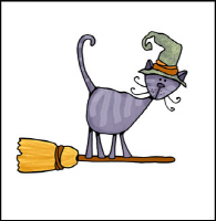 broomstick kitty