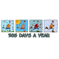 365 days a year (man)
