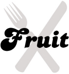 Fruit (fork and knife)