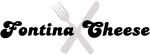 Fontina Cheese (fork and knife)