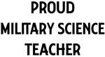 MILITARY SCIENCE teacher