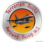 Terrorism Sucks I'm Going Bombing F-16