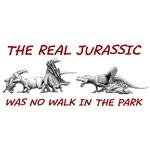 The Real Jurassic Was No Walk In the Park