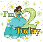 I'm 2 Black Princess 2nd Birthday