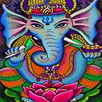 Ganesha Art by Julie Oakes