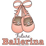 Future Ballerina Ballet Slippers Baby Kids