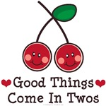 Double Cherry Twin Gifts T-shirts and More