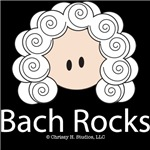 Bach Rocks T shirt Music Bag Gifts