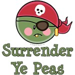 Pea Pirate T-shirt and Gifts