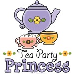 Children Girls Tea Parties T shirt Gifts