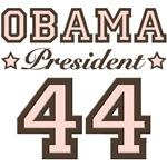 President Obama 44 T shirt Buttons Gifts