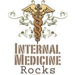 Internal Medicine Rocks Internist T shirt Gifts