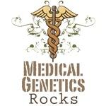 Medical Genetics Rocks T shirt Geneticist Gift