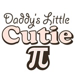 Daddy's Little Cutie Pi Baby and Kids Clothes Gift