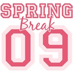 Pink 09 Spring Break T-shirt Tees Gifts