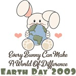World Of Difference Bunny T-shirt Earth Day Gifts