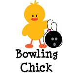 Bowling Chick T-shirt Tees and Gifts