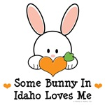 Some Bunny In Idaho Loves Me T-shirt Gifts