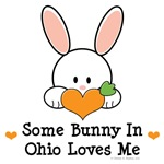 Some Bunny In Ohio Loves Me T shirt Gifts