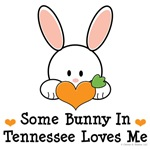Some Bunny In Tennessee Loves Me T shirt Gifts