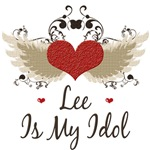 Winged Heart Lee Is My Idol T Shirt Tees Gifts
