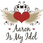 Winged Heart Aaron Is My Idol T Shirt Tees Gifts