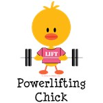 Powerlifting Chick T-shirts Tees and Gifts