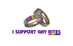 I SUPPORT GAY RITES