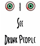 I See Drunk People T backs have Mariano's Bar logo