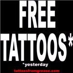 FREE tattoos