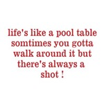 Life's Like A Pool Table
