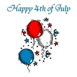 Happy 4th of July (balloons)