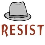 Fringe - Observer Fedora Hat - Resist