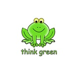 Think Green Frog