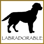 Labradorable (black lab)