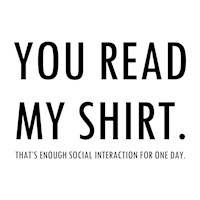 You Read My Shirt - Anti-Social