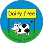 Dairy free-allergy alert