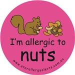 Nuts squirrel-pink