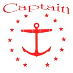 Captian with anchor and stars