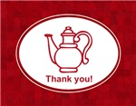 Tea Party Thank you notes