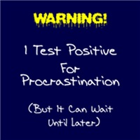 Test For Procrastination