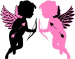 Cupids Black & Pink