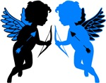 Cupids Black & Blue