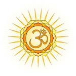 Om Lotus Sunburst
