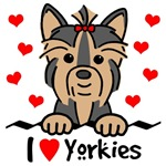 I Love Yorkies